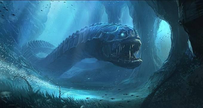 Žijí v oceánech nestvůry, které mohou zničit i ponorku? Kdo ví.