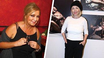 Bára Basiková před a po zhubnutí