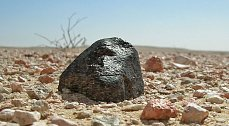 Meteority tam lze najít častěji než hříbky vnašich lesích.