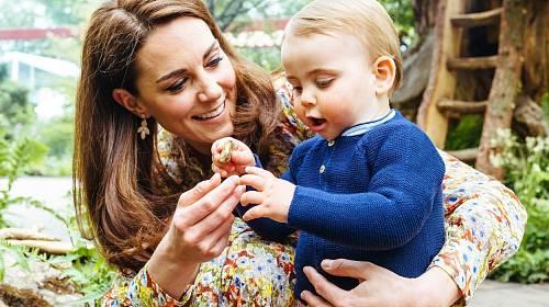 Princ Louis oslavil již 2. narozeniny