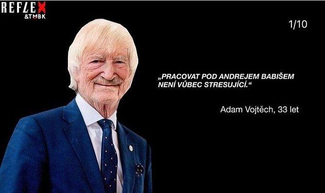 Práce pod Andrejem Babišem nejspíš Vojtěchovi Adamovi chyběla.