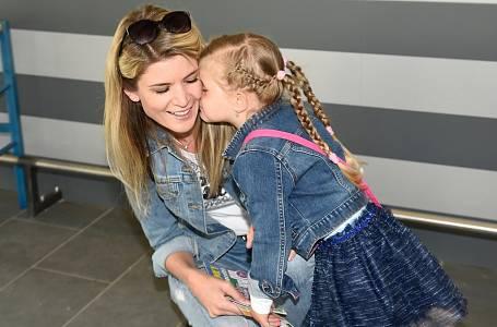Iveta Vítová s dcerou