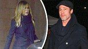 Jennifer Aniston díky Bradovi věří, že její život zaplní štěstí.