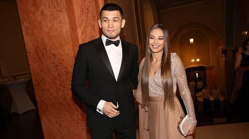 Monika Bagárová a Makhmud Muradov