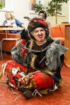 Miluška Bittnerová byla v kostýmu k nepoznání.