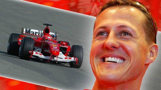 Michael Schumacher v dobách největší slávy