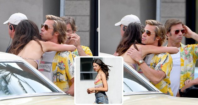 Brad Pitt Margaret Qualley