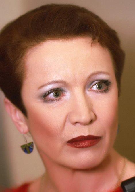 Herečka byla ze smrti Jiřího Adamíry tak zdrcená, že už nikdy neměla vážný vztah.