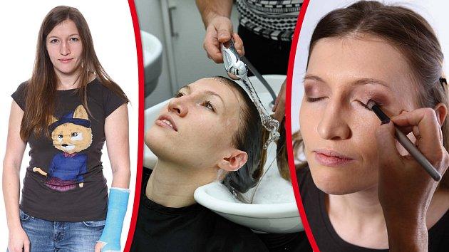 Ze sportovkyně modelkou. Kateřina Lisová si díky proměně se Šípem vyzkoušela zcela jiný styl.