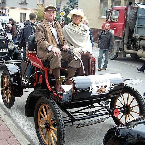 Podnikatel Hoffer se svou paní