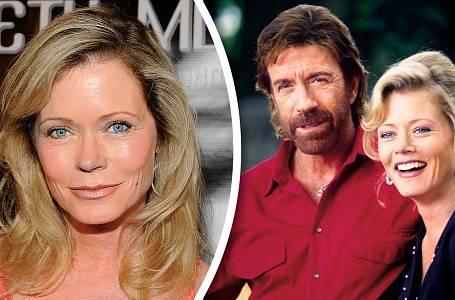 Sheree nyní a před lety, kdy vseriálu Walker, Texas Ranger hájila dobro poboku Chucka Norrise.