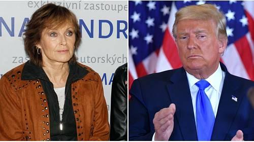 Olga Matušková, Donald Trump