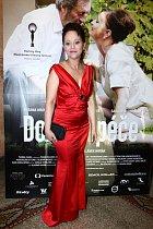 Alena Mihulová na premiéře filmu Domácí péče