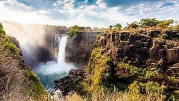 Zambie/Zimbabwe: Milionové vodopády
