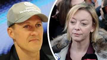 Michael Schumacher a jeho manažerka Sabine Kehm