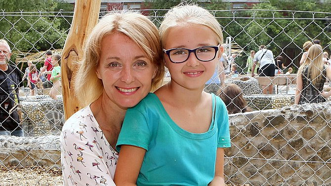 Veronika Žilková s dcerou Kordulou