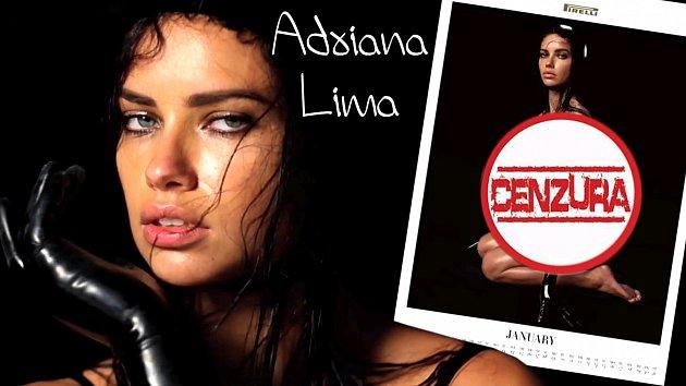 Světová topmodelka Adriana Lima se nerozpakovala a šla donaha!