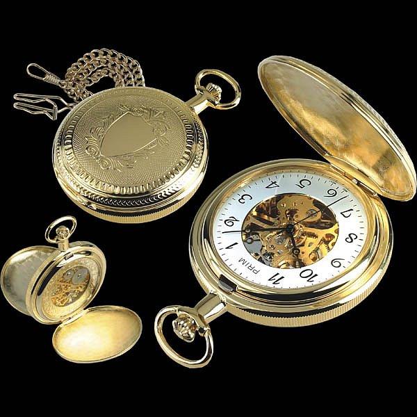 Prim nabízí i luxusní kapesní hodinky. Je libo z titanu, zlata nebo platiny?