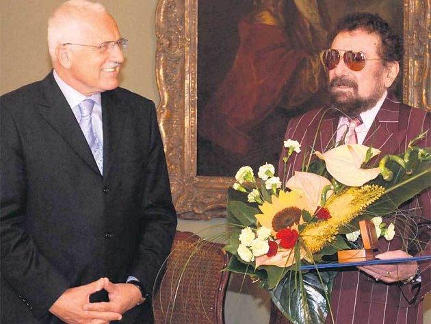 Václav Klaus a Waldemar Matuška