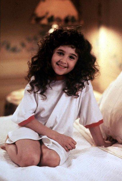 Alisan Portner ve filmu Kudrnatá holka