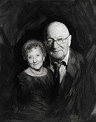 Joyce a James, také spolu žijí od roku 1952.