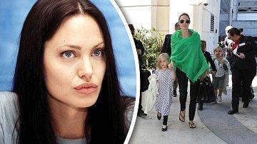 Herečka Angelina Jolie usíná s pocity strachu...