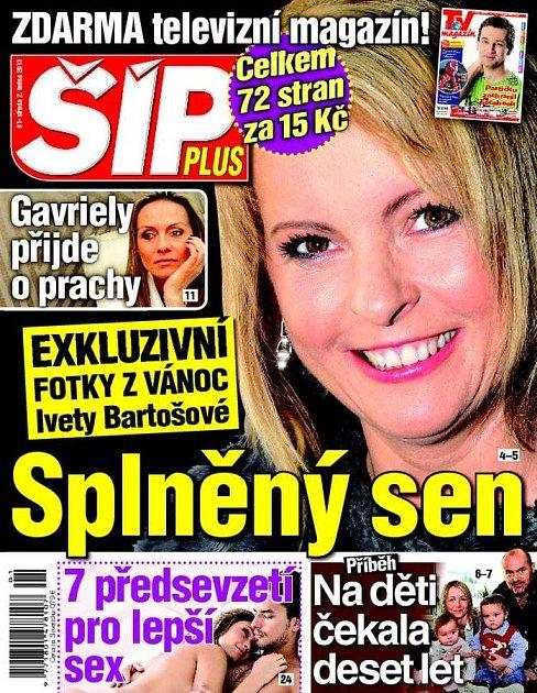 Aktuální vydání Šípu 3.1. 2013