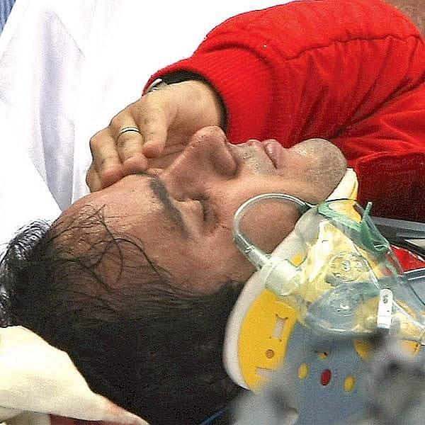 Felipe Massa po nedávné nehodě