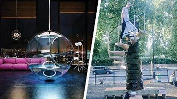 Vana jako průhledná koule nebo přenosné schody. Vynálezci se i loni pořádně činili!