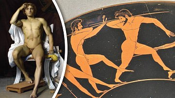 Římané toužili nejen po krásných ženách, ale také vyvinutých mužích.