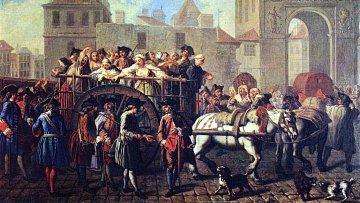 Na kurtizány padla v 16. a 17. století bída. Mnoho měst se jich hromadně zbavovalo.