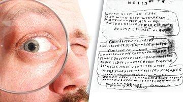 Tento papír měl Ricky vkapse. Je to jen nesmyslný shluk písmen, nebo dokonalý kód?
