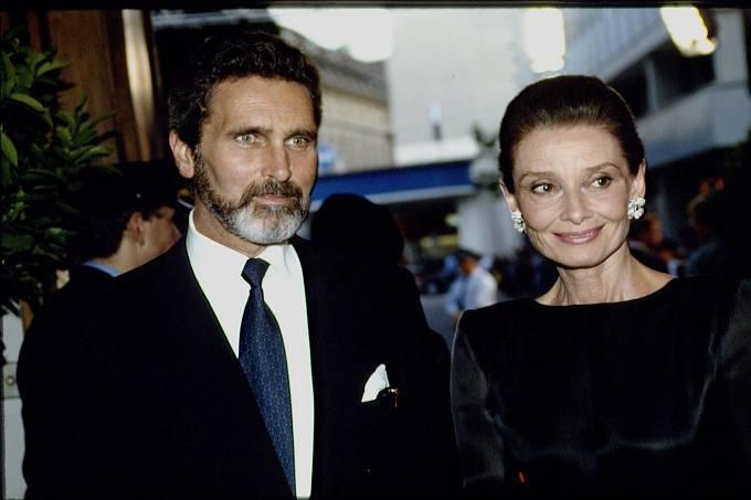 V roce 1981 s přítelem Robertem