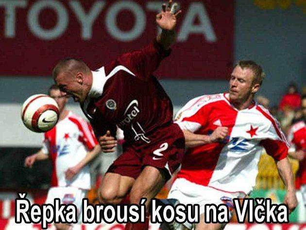 Řepka versus Vlček, to bude bitva!