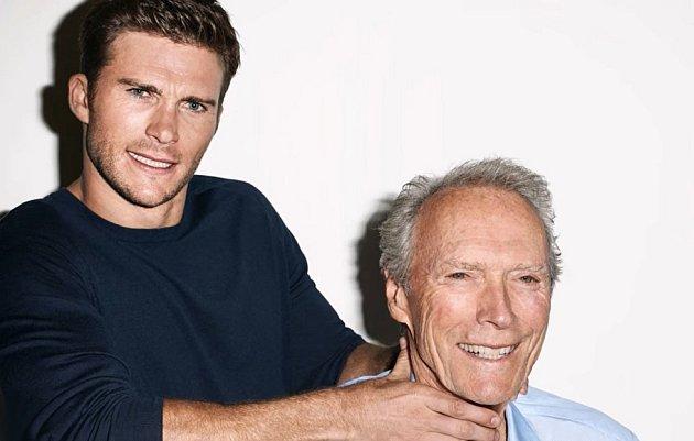 Je zajímavé, když se podíváte na muže a jeho otce. Čtete tam stejné rysy a dost často vám to dá jasnou představu o tom, jak bude dotyčný vypadat za pár desítek let. V případě Scotta a Clinta Eastwoodových je to zcela v pořádku.