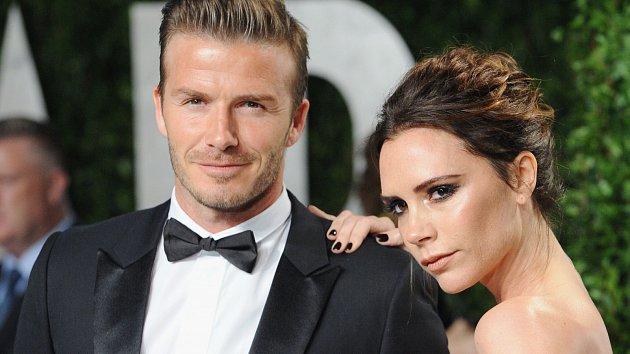 David Beckham smanželkou Victorií