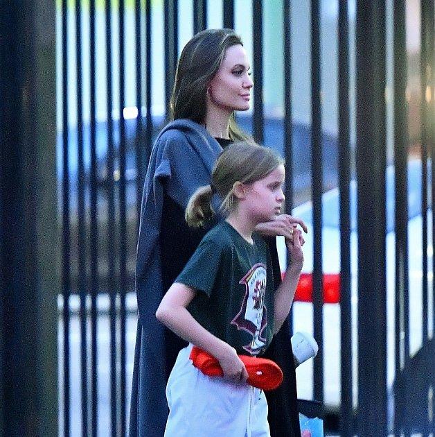 Angelina Jolie a Shiloh