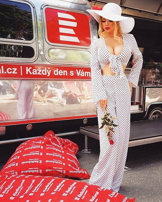Česká Barbie Gabriel by chtěla prorazit se svým tělem ve světě.