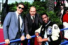Ústřední trojka Policajta vBeverly Hills 2 (1987).