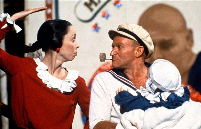 Fajfka, špenát asvaly. Vroce 1980 si zahrál Pepka námořníka.