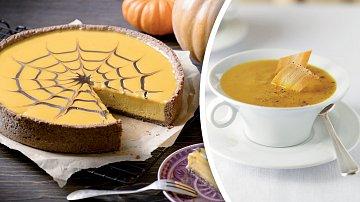 Originální dortík a krémová polévka
