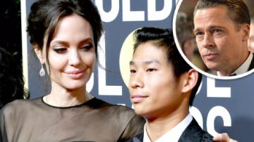 Angelina Jolie, Brad Pitt a syn Pax Jolie-Pitt