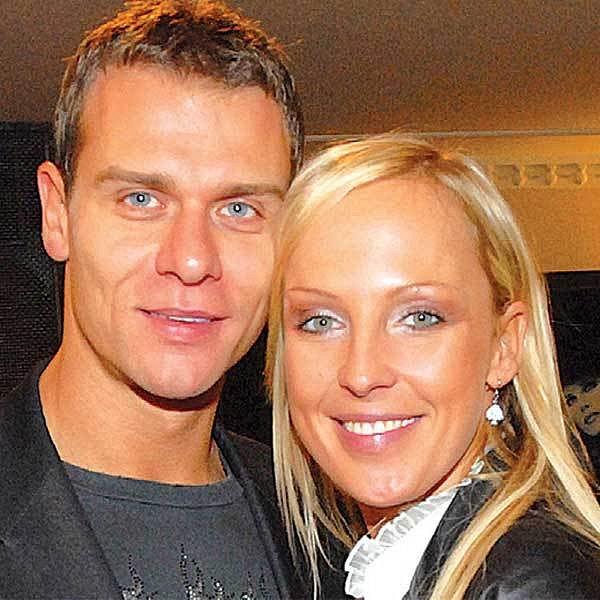 Zuzana Belohorcová a její přítel Vlasta Hájek