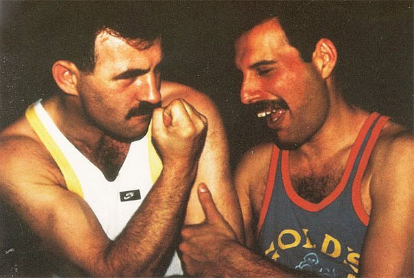 Freddie Mercury a Jim Hutton