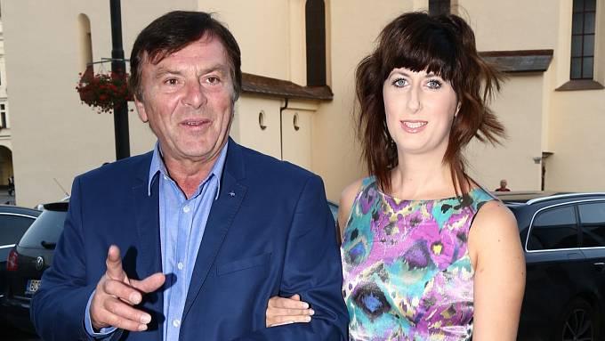 Pavel Trávníček a jeho žena Monika