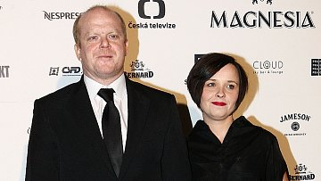 David Novotný s manželkou