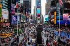 Na Times Square to žije ve dne, v noci.