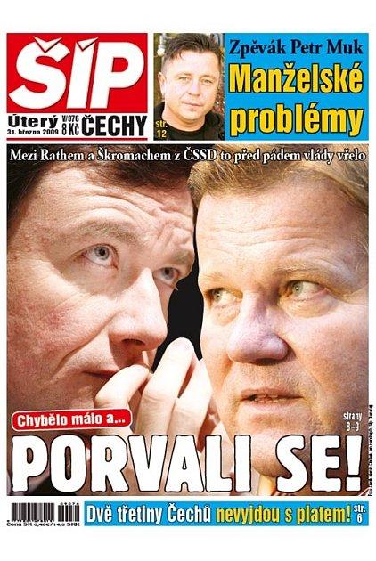 Titulka 31. 3. 2009