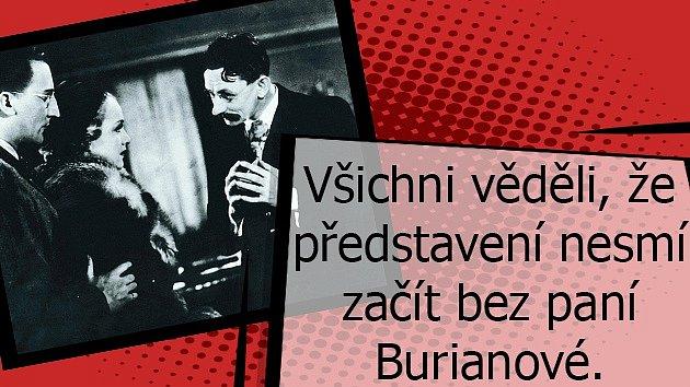 Jaký byl Vlasta Burian vsoukromí.