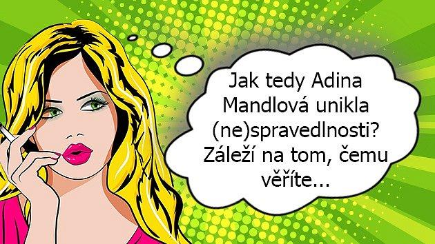 Adina Mandlová byla přítomna při smrtelné autonehodě. Řídila ona, nebo její milenka?